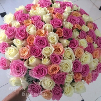 101-raznocvetnaya-roza-40-sm